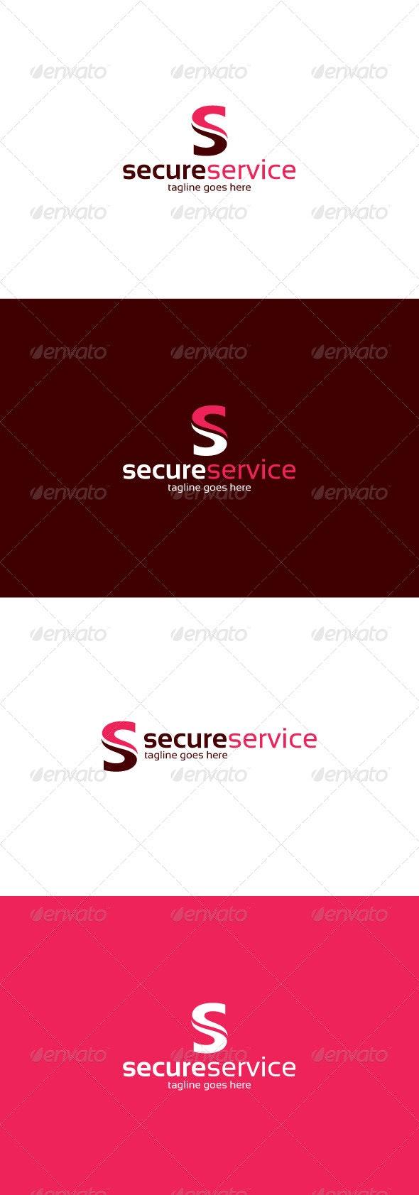 Secure Service Logo — Letter S - Letters Logo Templates
