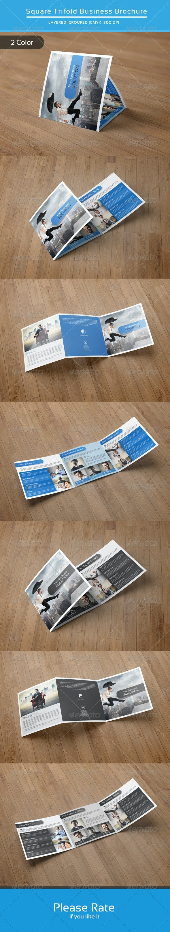 Square Trifold Business Brochure-V21 - Corporate Brochures