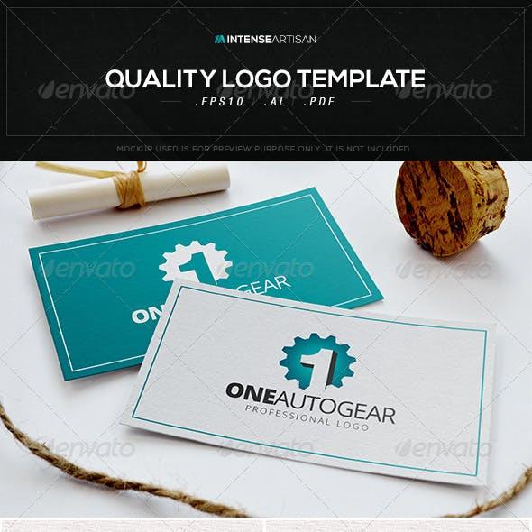 One Autogear Logo Template