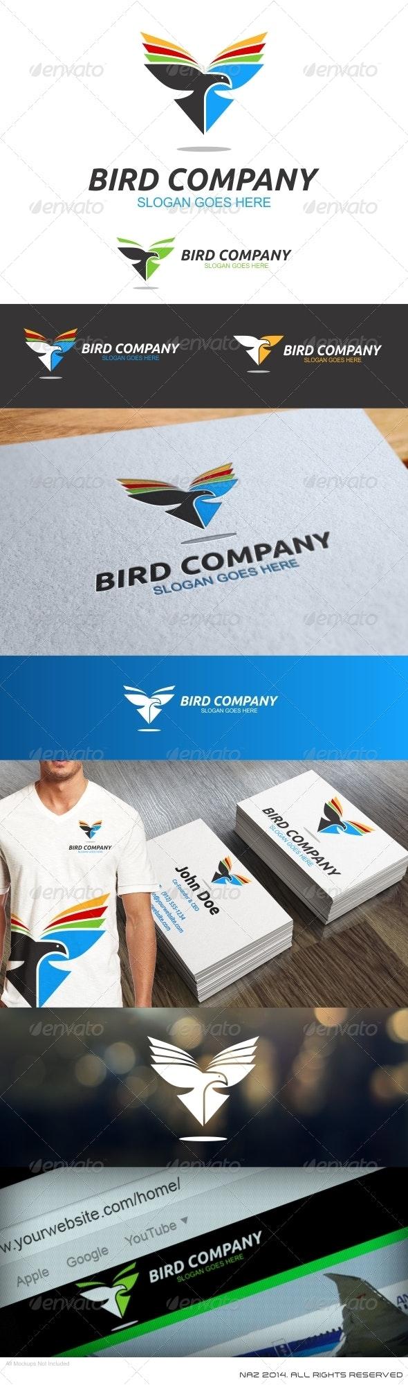 Bird Company Logo - Animals Logo Templates
