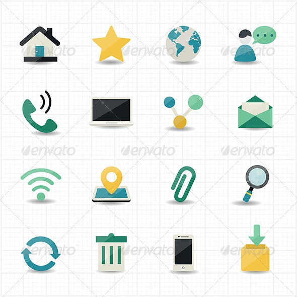 Internet and Website Icons - Web Icons
