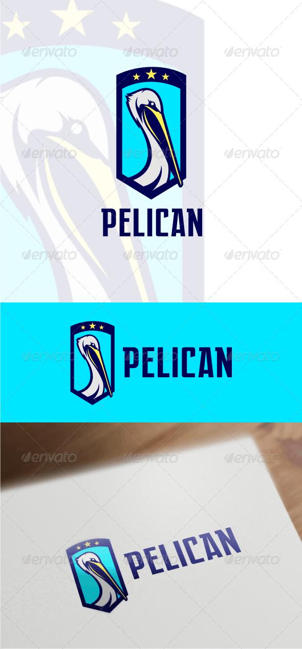 Pelican Logo Template - Animals Logo Templates