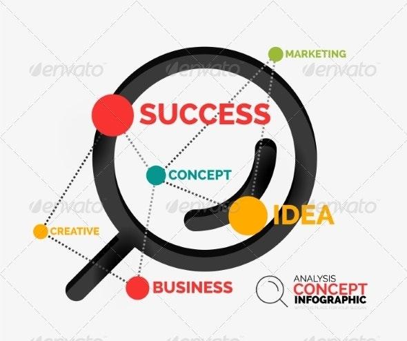 Marketing Analysis Concept Vector - Miscellaneous Vectors