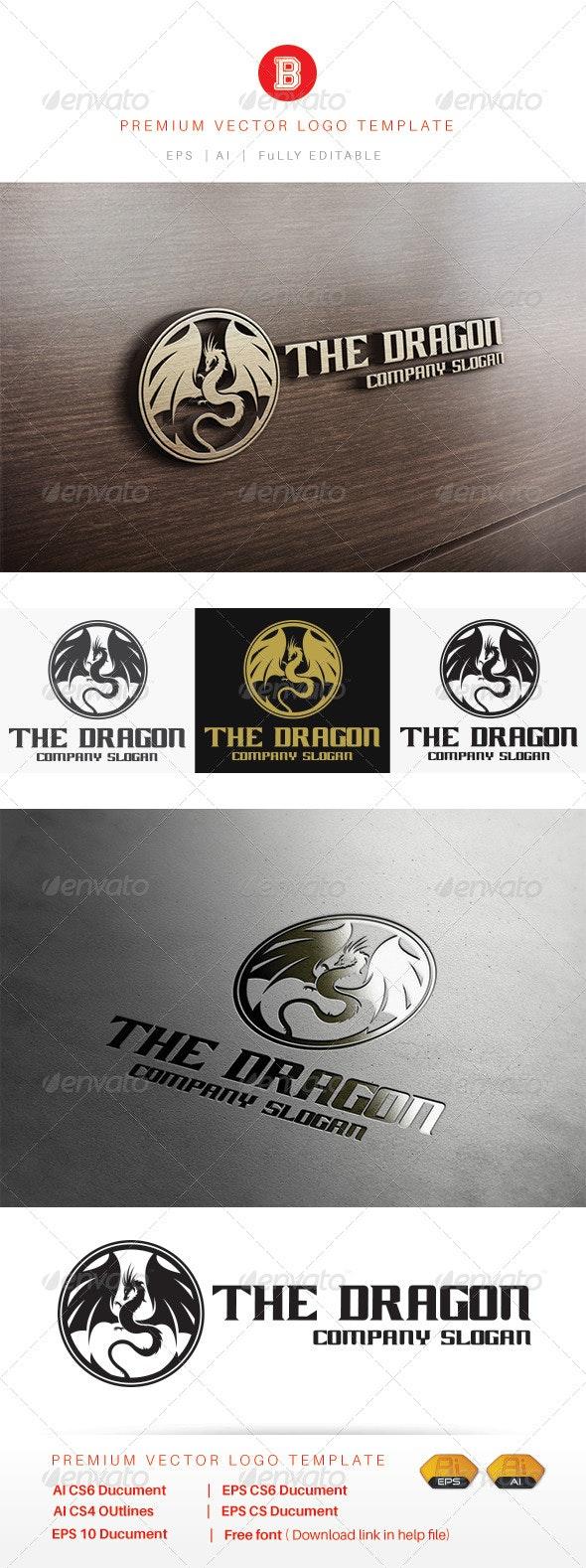 The Dragon - Animals Logo Templates