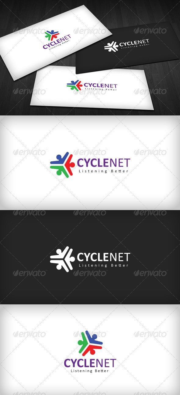 Cyclenet Logo - Vector Abstract