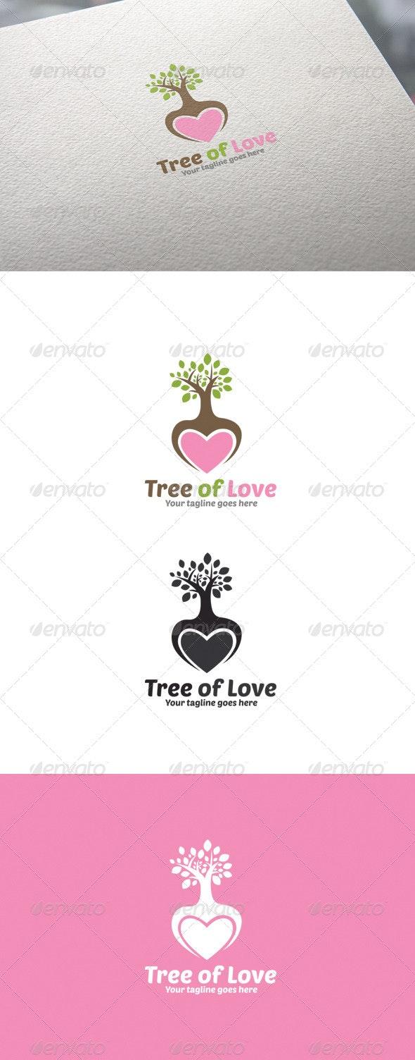 Tree of Love - Logo Templates