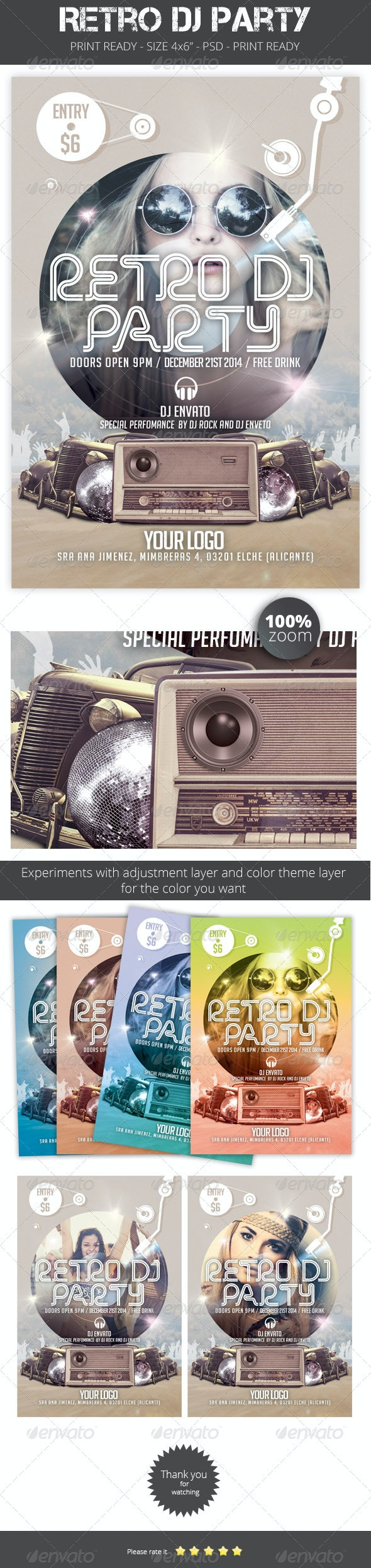 Retro DJ Party - Clubs & Parties Events