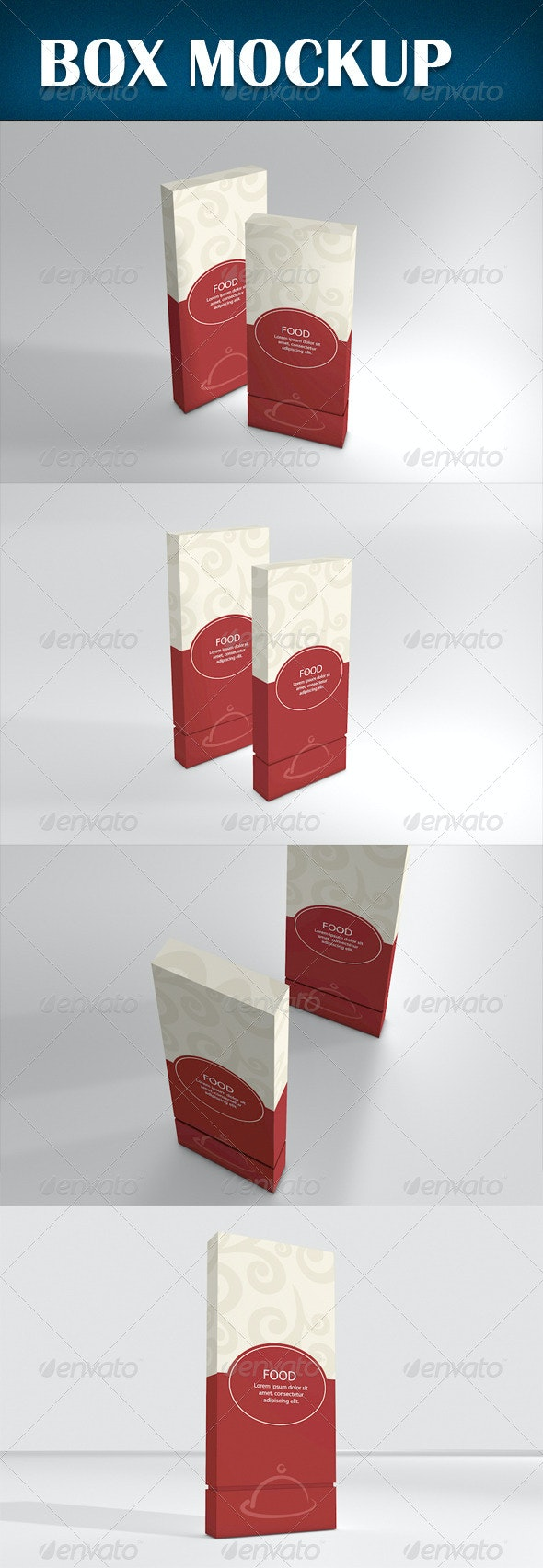 Box Mockup - Product Mock-Ups Graphics