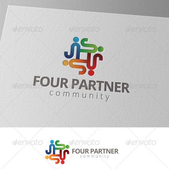 Four People Community Logo