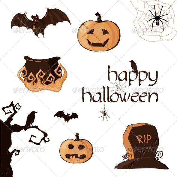 Halloween Element Set - Halloween Seasons/Holidays