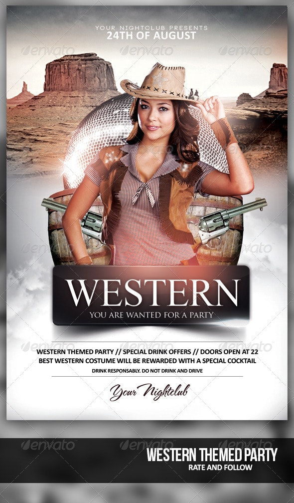 Western Theme Night - Clubs & Parties Events