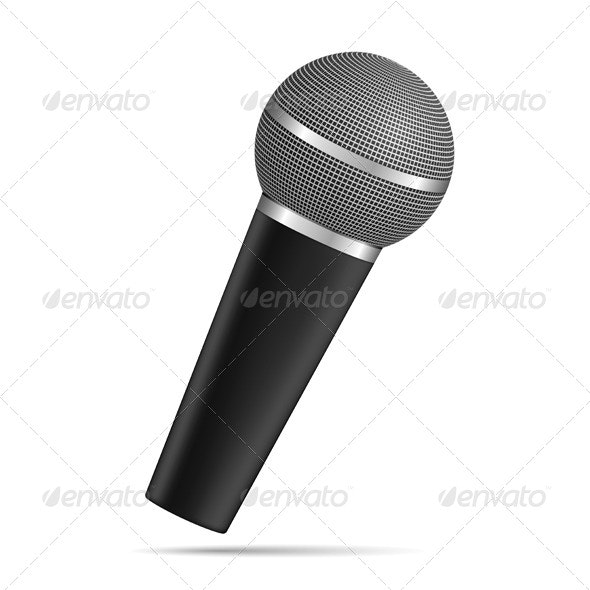 Microphone - Objects Vectors