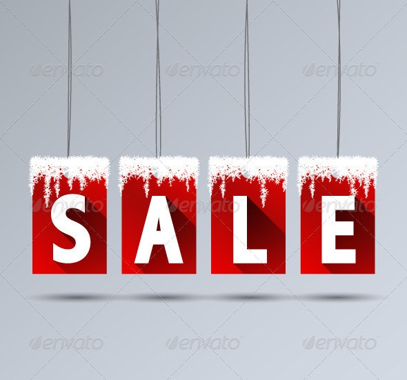 Winter Sale - Commercial / Shopping Conceptual