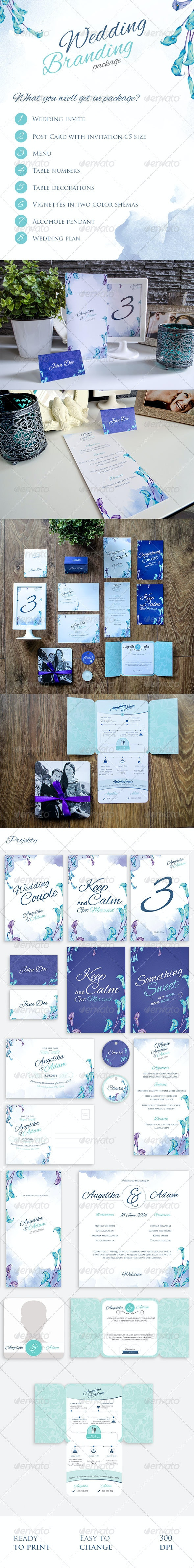 Full Wedding Branding Package - Weddings Cards & Invites