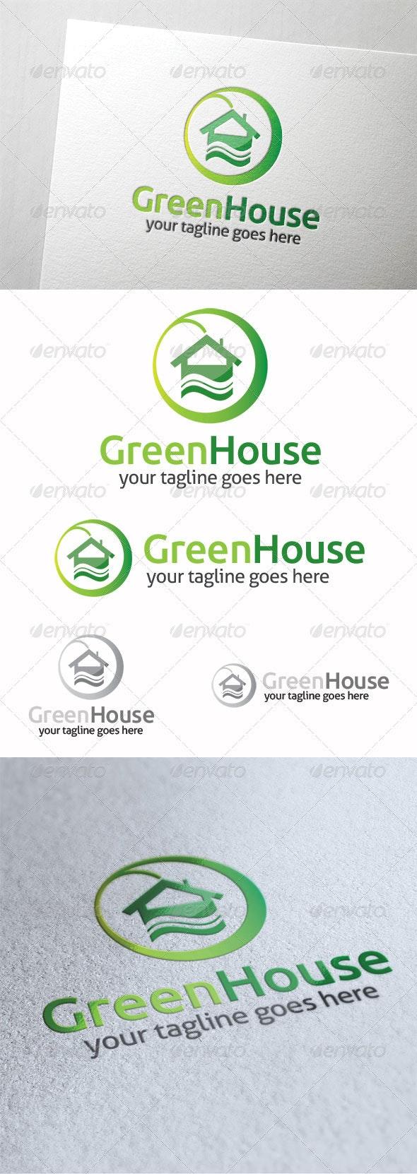 Green House - Symbols Logo Templates