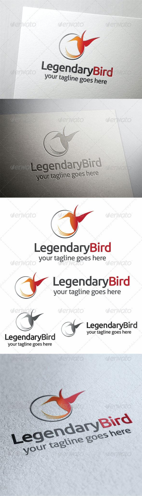 Legendary Bird - Symbols Logo Templates