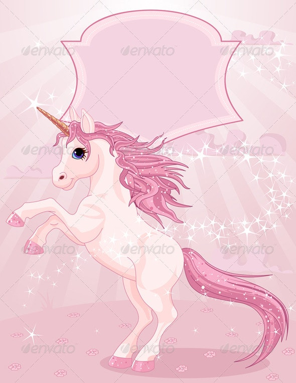 Magic Unicorn - Animals Characters