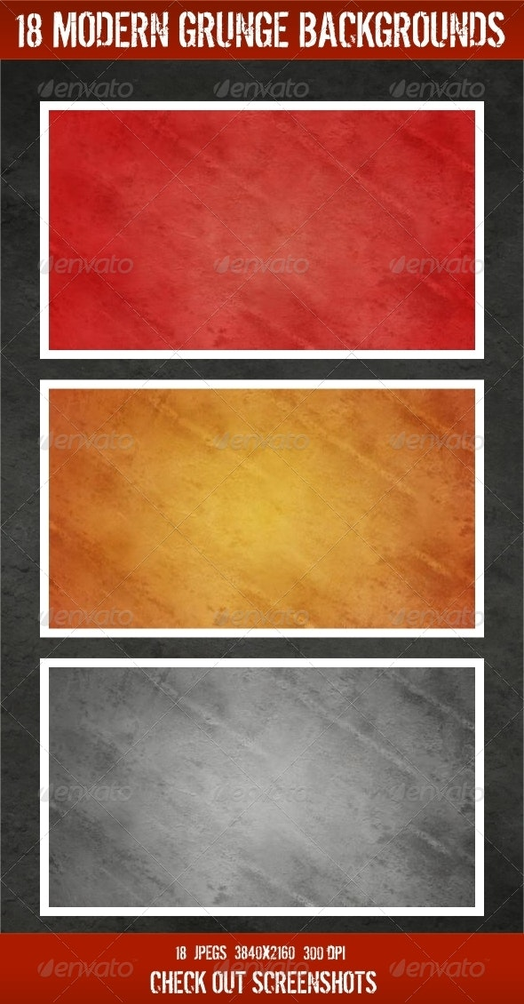 18 Modern Grunge Backgrounds - Backgrounds Graphics