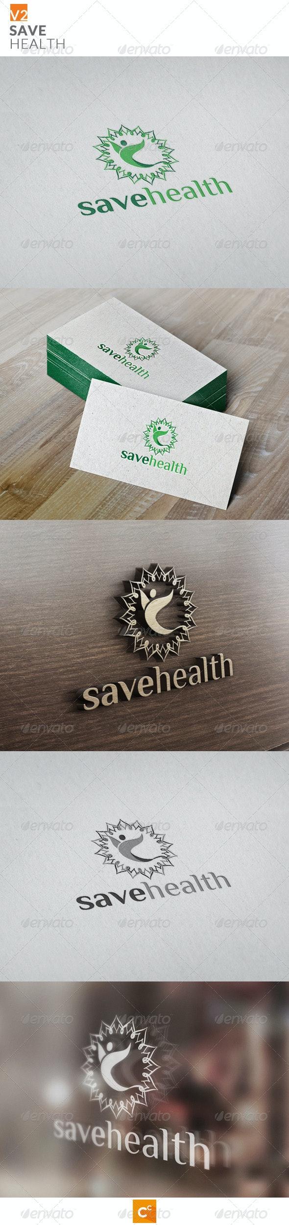 Save Health v2 - Symbols Logo Templates