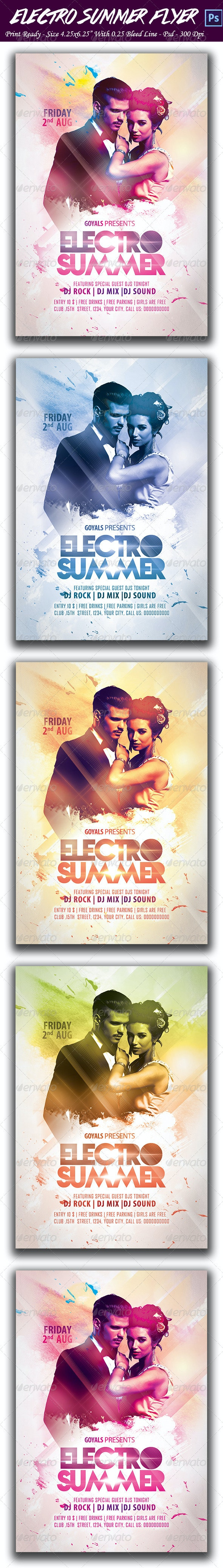 Electro Summer Party - Clubs & Parties Events