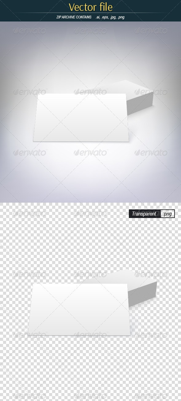 Business Card Template - Man-made Objects Objects