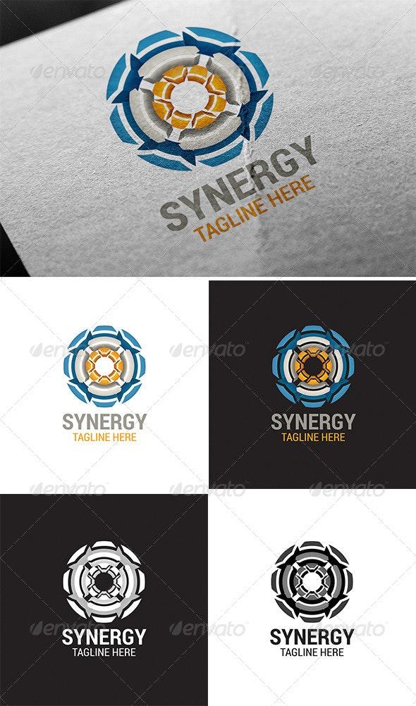 Synergy Logo Template - Abstract Logo Templates
