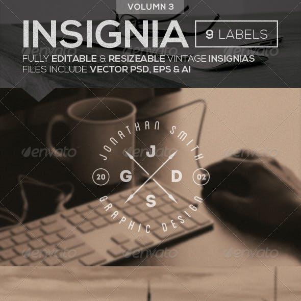 Vintage Logo Insignias Vol 3