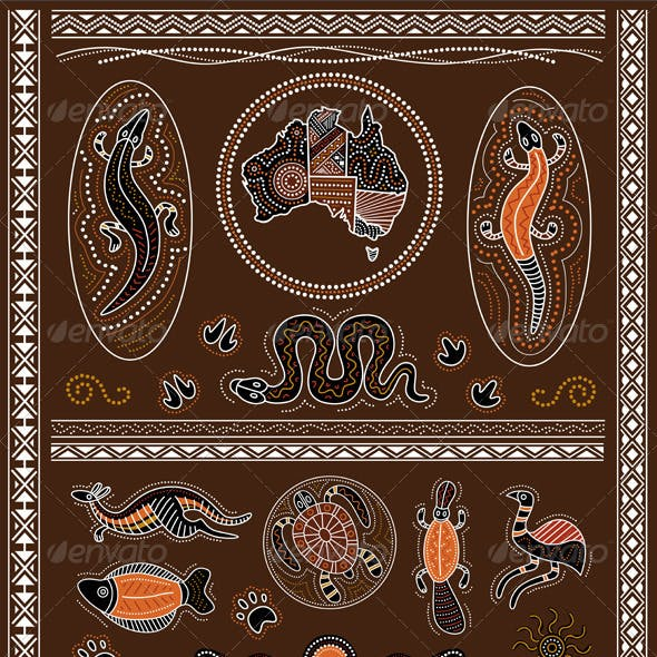 Aboriginal Design Elements
