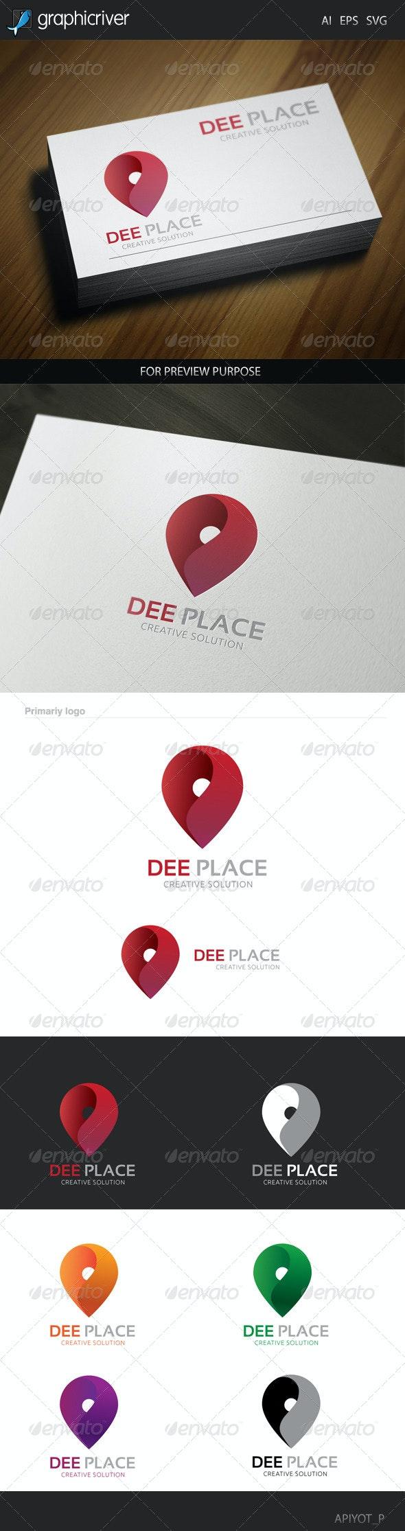 Dee  Place Logo - Symbols Logo Templates