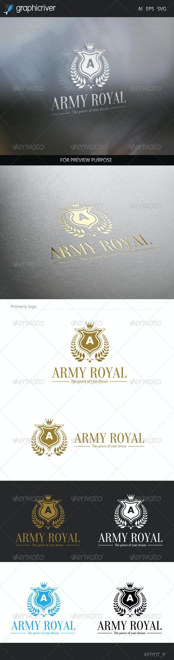 Army Royal Logo - Crests Logo Templates