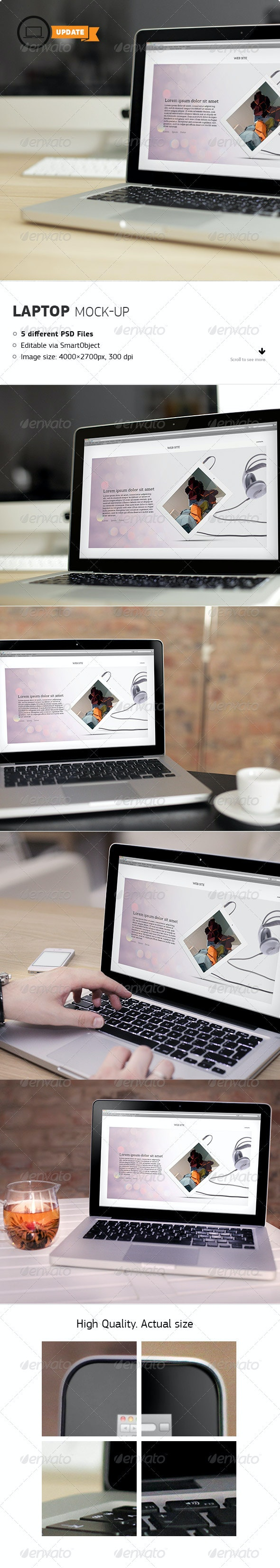Laptop Mockups - Laptop Displays