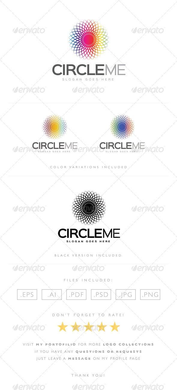Circle Me Logo - Abstract Logo Templates