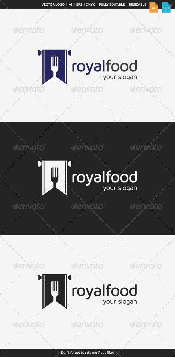 Royal Food Logo - Food Logo Templates