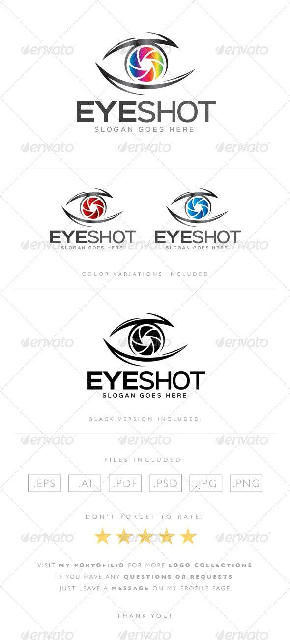 Eye Shot Logo - Objects Logo Templates