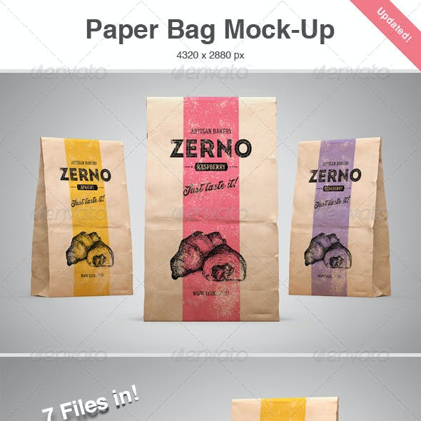 Paper Bag Mock-Up
