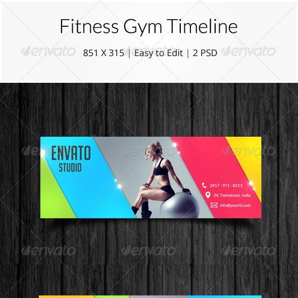 Fitness Gym Facebook Timeline