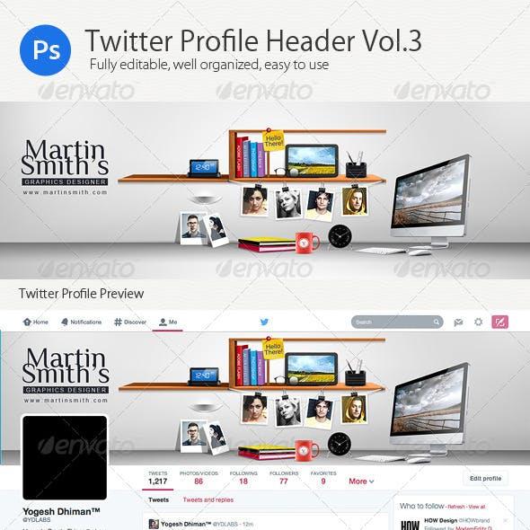 Twitter Profile Header V3