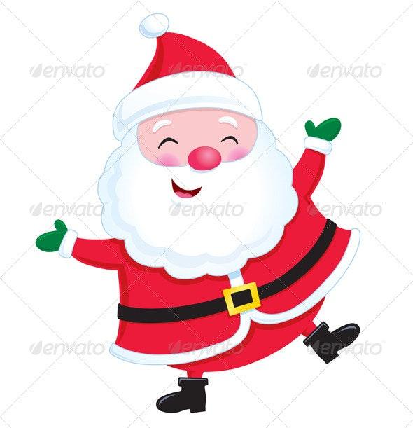 Jolly Santa Claus - Christmas Seasons/Holidays
