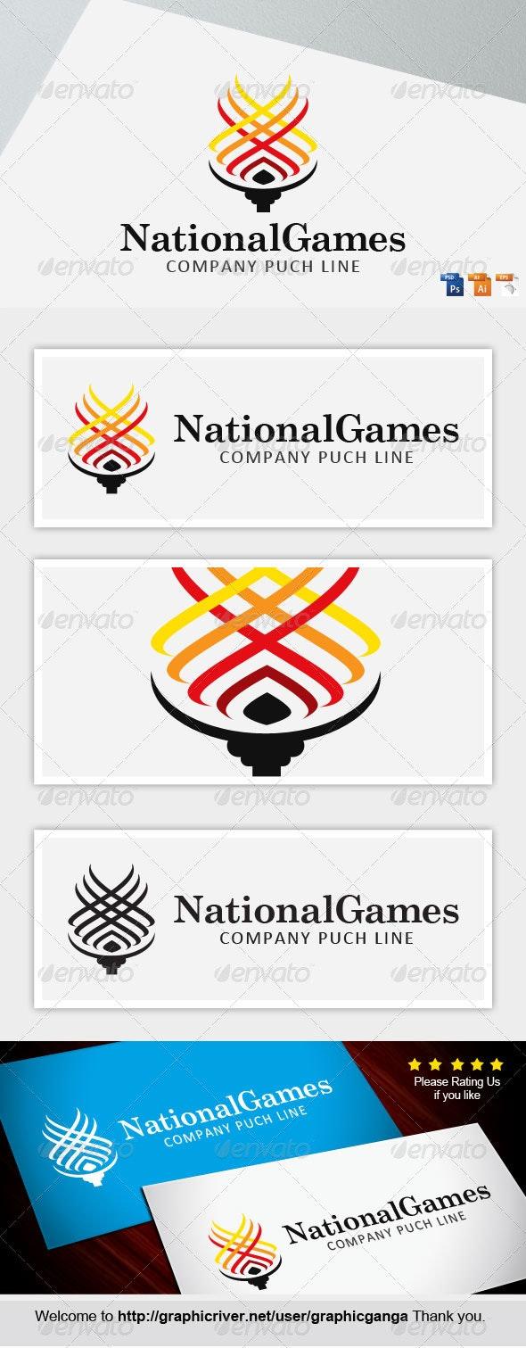NationalGames - Abstract Logo Templates