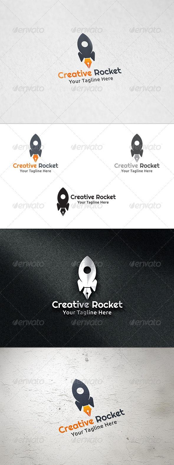 Creative Rocket - Logo Template - Objects Logo Templates
