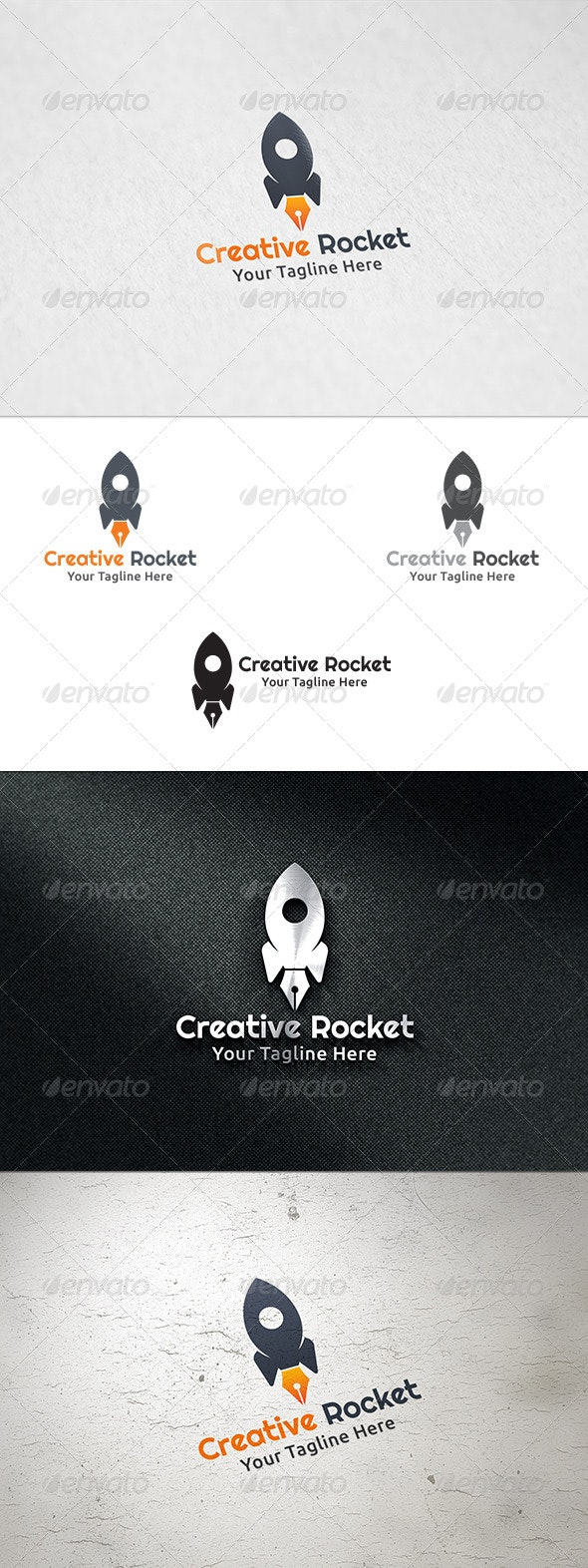 Creative Rocket - Logo Template - Objects Logo Templates