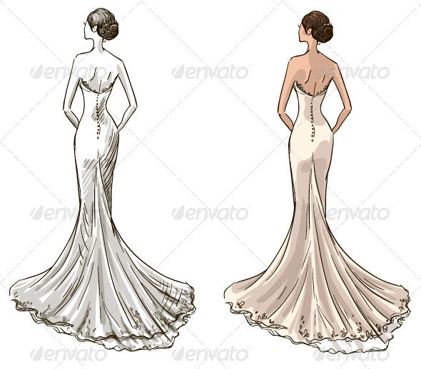 Beautiful Young Bride - Weddings Seasons/Holidays