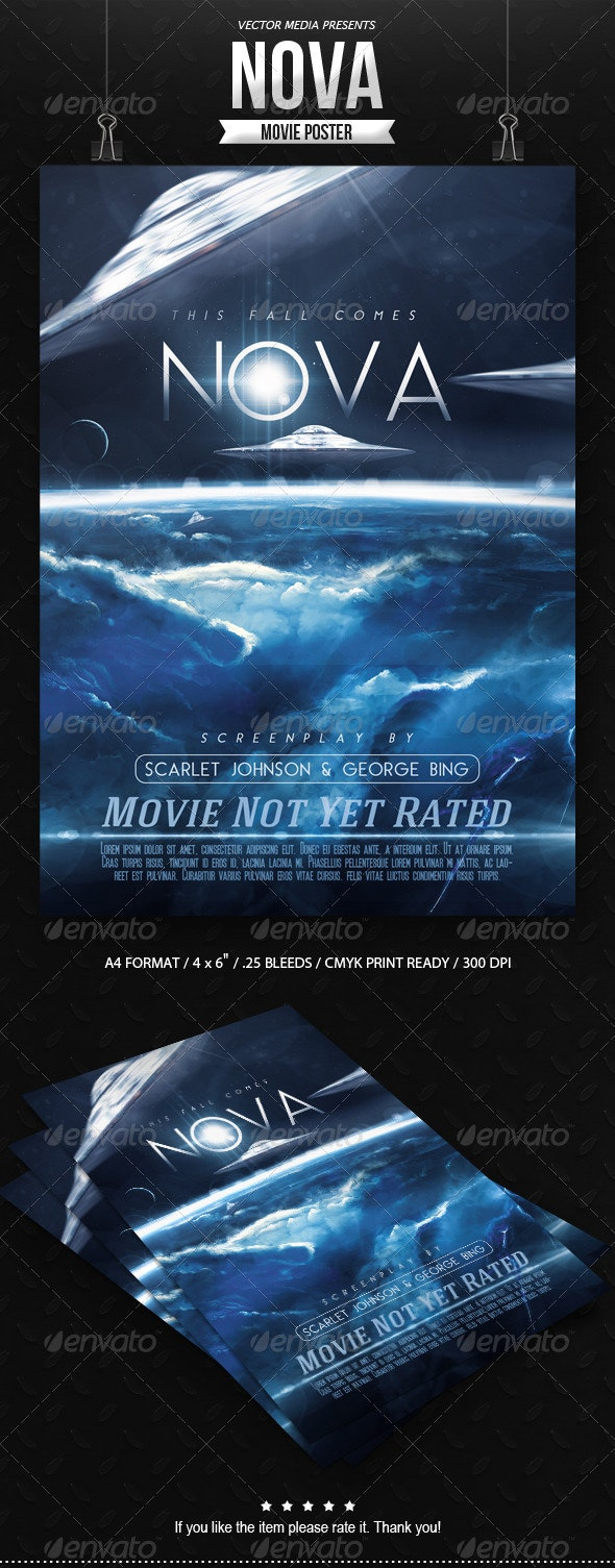 Nova - Movie Poster - Miscellaneous Events