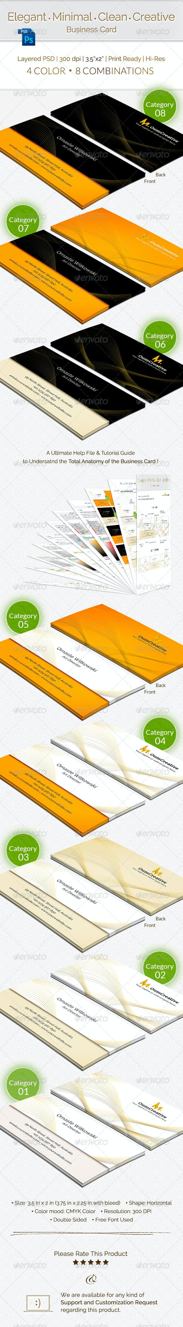 Elegant and Creative Business Card - Creative Business Cards