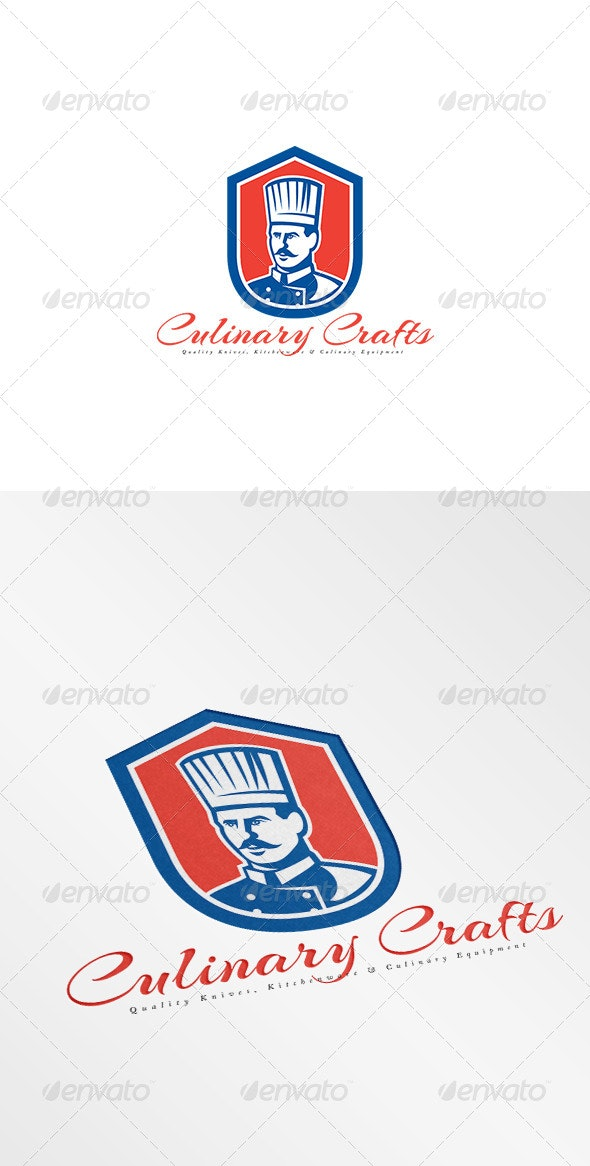 Culinary Crafts Kitchen Equipments Logo - Humans Logo Templates