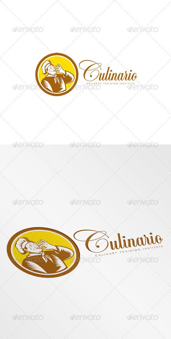 Culinario Culinary Training Institute Logo - Humans Logo Templates