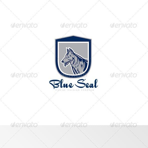 Blue Seal Canine Training Program Logo