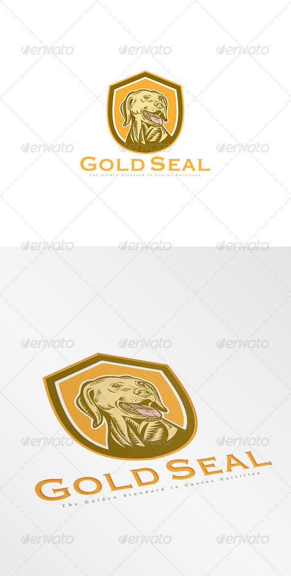 Gold Seal Canine Nutrition Logo - Animals Logo Templates