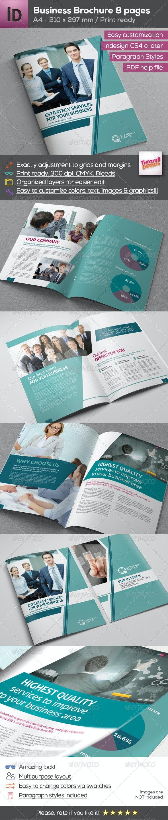 A4 Modern Business Brochure - Corporate Brochures