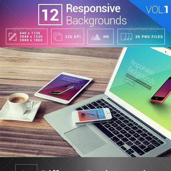 12 Responsive Backgrounds